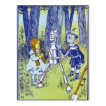 Vintage Wizard of OZ Characters Postcards