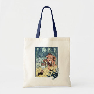 Vintage Wizard of Oz Characters, Yellow Brick Road Canvas Bags