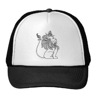 Vintage Wizard of Oz, Cowardly Lion with Crown Cap
