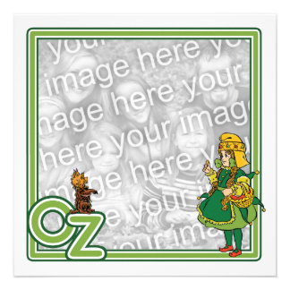 Vintage Wizard of Oz; Dorothy and Toto Invitations