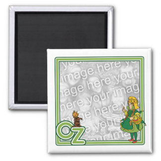Vintage Wizard of Oz Dorothy and Toto Magnets
