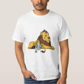 Vintage Wizard of Oz, Dorothy and Toto with Lion T-Shirt