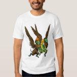 Vintage Wizard of Oz, Dorothy, Evil Flying Monkeys Tshirts