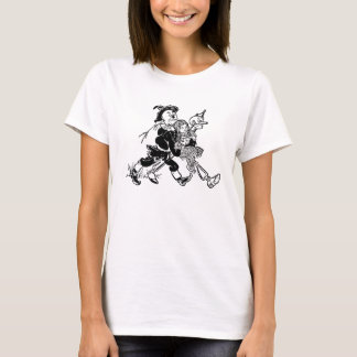 Vintage Wizard of Oz Dorothy Sleeping with Poppies T-Shirt