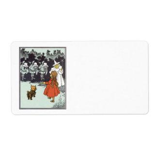 Vintage Wizard of Oz Dorothy Toto Glinda Munchkins