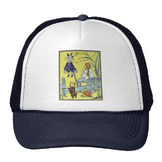 Vintage Wizard of Oz, Dorothy Toto Meet Scarecrow Cap