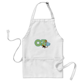 Vintage Wizard of Oz Dorothy Toto with BIG Letters Standard Apron