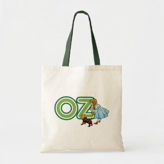 Vintage Wizard of Oz, Dorothy Toto with Letters OZ Bags
