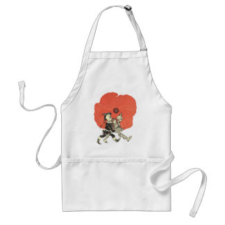 Vintage Wizard of Oz, Dorothy with Poppy Flowers Standard Apron