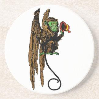 Vintage Wizard of Oz, Evil Flying Monkey Hat Coaster