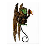Vintage Wizard of Oz, Evil Flying Monkey Hat Post Card