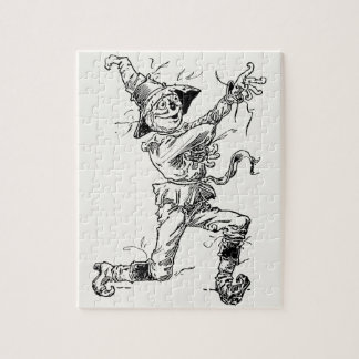 Vintage Wizard of Oz Fairy Tales, the Scarecrow Jigsaw Puzzle