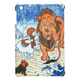 Vintage Wizard of Oz Illustration - Dorothy & Lion Case For The iPad Mini