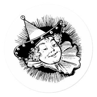 Vintage Wizard of Oz, Munchkin Girl Birthday Party Custom Announcement