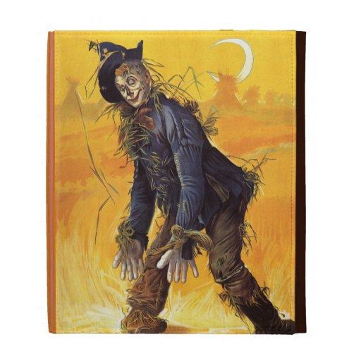 Vintage Wizard of Oz Scarecrow iPad Folio Covers