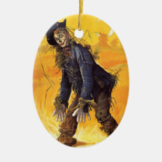 Vintage Wizard of Oz Scarecrow Christmas Ornament