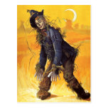 Vintage Wizard of Oz Scarecrow Post Card