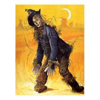 Vintage Wizard of Oz Scarecrow Post Card