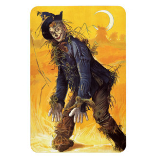 Vintage Wizard of Oz Scarecrow Vinyl Magnet