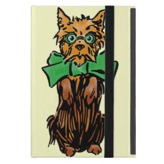 Vintage Wizard of Oz Toto Dog with Green Bow iPad Mini Case