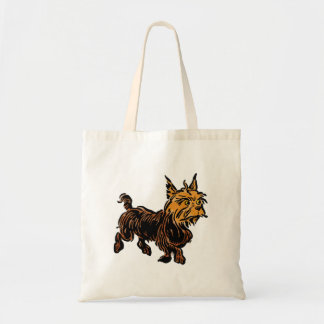 Vintage Wizard of Oz, Toto the Cute Puppy Dog Budget Tote Bag