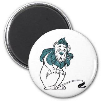 Vintage Wizard of OZ W. W. Denslow 6 Cm Round Magnet