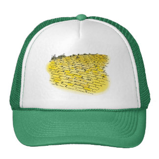Vintage Wizard of Oz Yellow Brick Road Cap