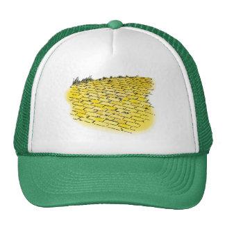 Vintage Wizard of Oz Yellow Brick Road Hat