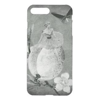 Vintage Woman Flower Black&White iPhone 7 Plus Case
