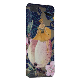 Vintage Woman Flower Collage II iPod Touch (5th Generation) Cases