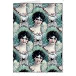 Vintage Woman Wallpaper