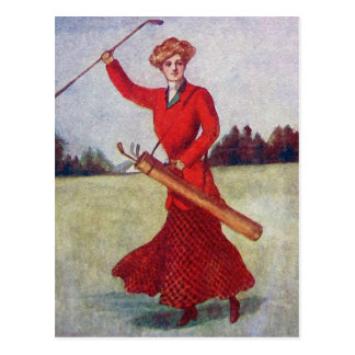 Vintage Women s Golf Fashion 1910s Postcards