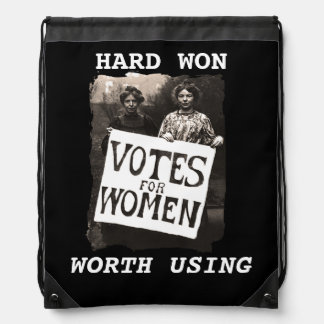 Vintage Women Vote Backpack
