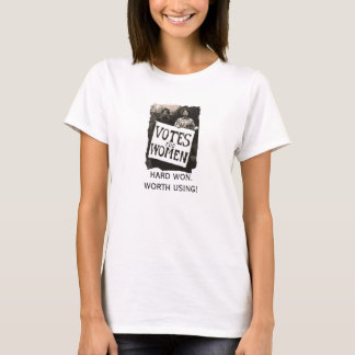 Vintage Women Vote Shirt