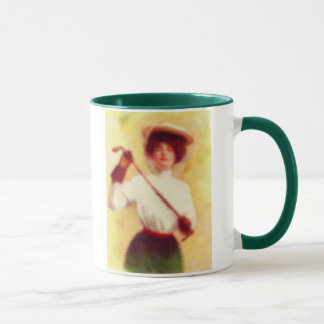 Vintage Women's Golf Fashion Mug
