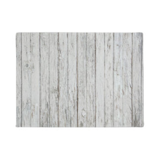 Vintage Wood Background Doormat