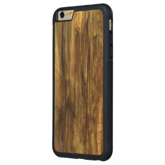 Vintage Wood Print Carved® Wood Bumper Carved® Maple iPhone 6 Plus Bumper Case