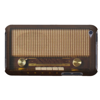Vintage wooden radio iPod touch Case-Mate case