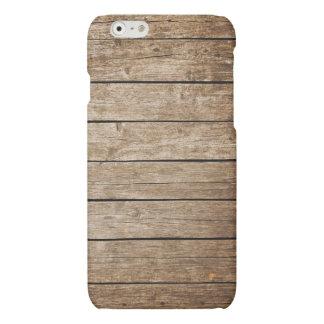 Vintage wooden surface texture case iPhone 6 plus case