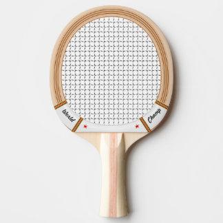 Vintage Wooden Tennis Racket