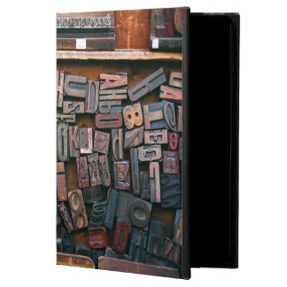 Vintage Woodtype Printing Powis iPad Air 2 Case