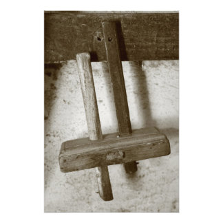 Vintage woodworking tool art photo