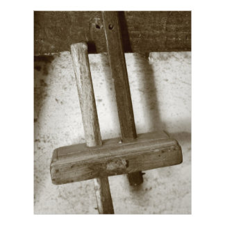 Vintage woodworking tool 21.5 cm x 28 cm flyer