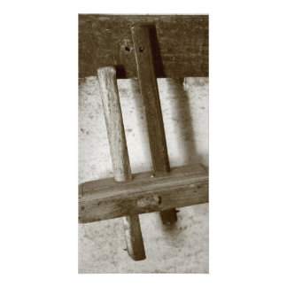 Vintage woodworking tool photo cards