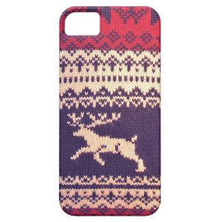 Vintage wool Deer iPhone 5 Cover