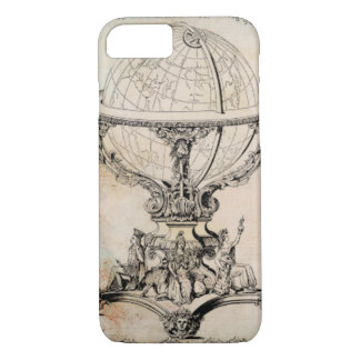 Vintage World Globe Map Print iPhone 8/7 Case