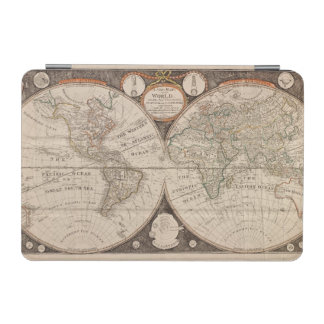 Vintage World Map (1766) iPad Mini Cover