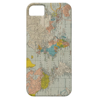 Vintage World Map 1910 iPhone 5 Case
