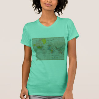 Vintage World Map 1910 T-Shirt