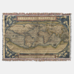 World map blankets bed blankets zazzle vintage world map afghan throw blanket gumiabroncs Image collections